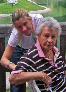 Insieme alla nonna
